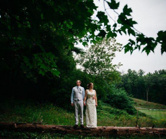 Wedding In The Woods