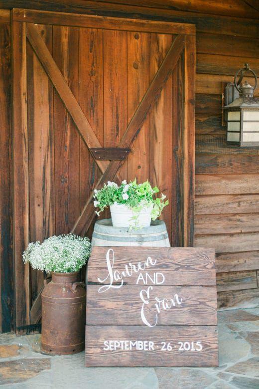 Glamorous Outdoor Barn Wedding Rustic Wedding Chic