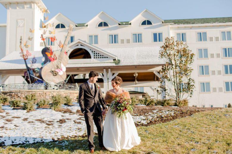 Dollywood Dreammore Resort Wedding Rustic Wedding Chic