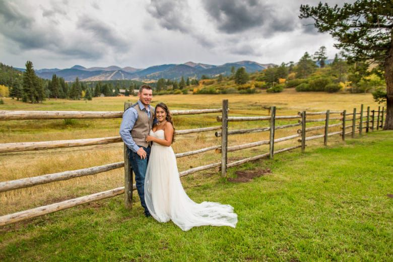 Colorado Ranch Wedding Rustic Wedding Chic