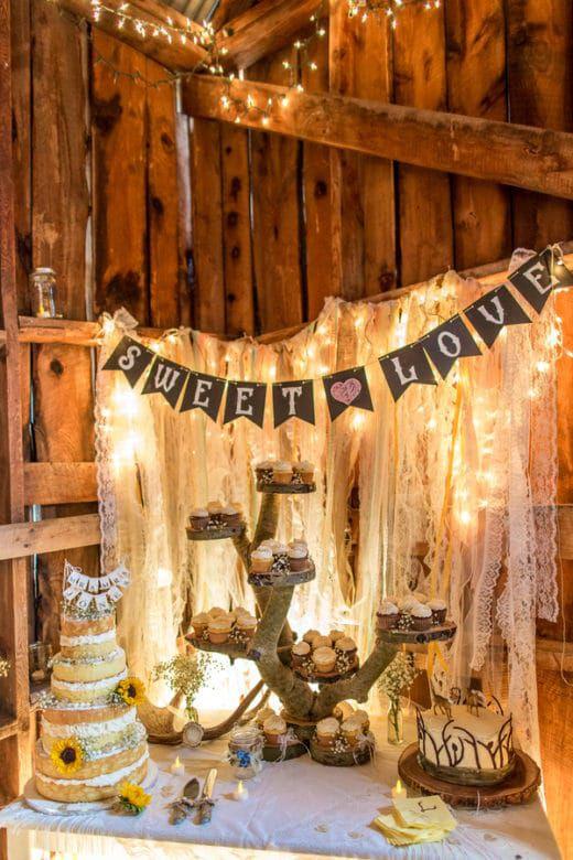 Colorado Ranch Wedding Rustic Wedding Chic