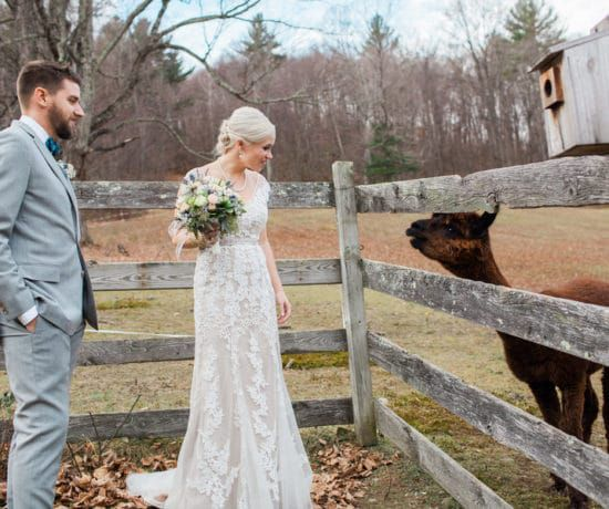 Rustic Vermont Barn Wedding