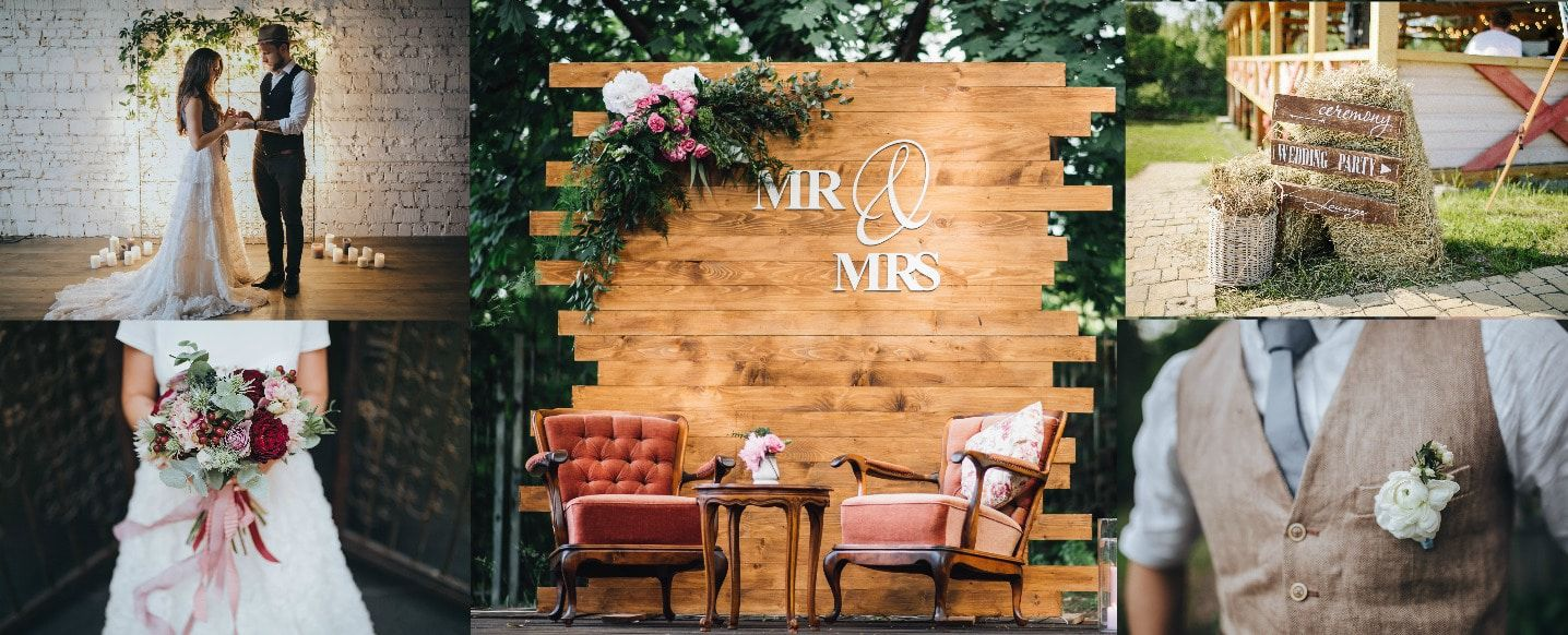 Our Top 10 Favorite Rustic Wedding Trends