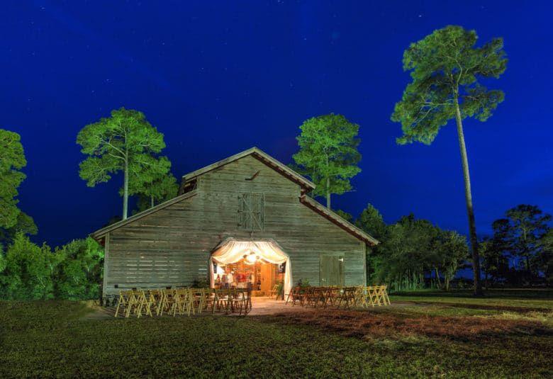 Barn Wedding Location