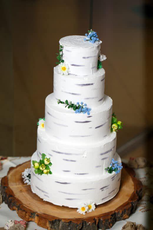 Birch Wedding Cakes