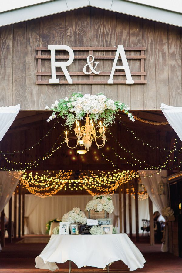 Elegant Florida Country Barn Wedding - Rustic Wedding Chic