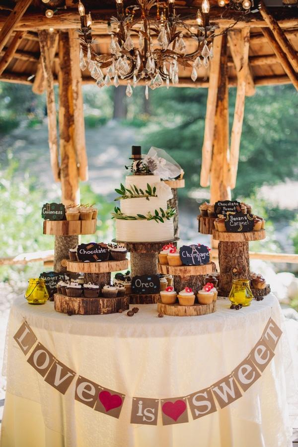 Lake Arrowhead Wedding Rustic Wedding Chic