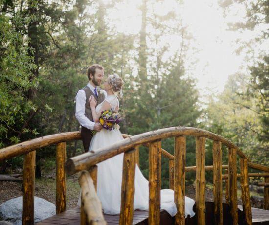 Lake Arrowhead Rustic Wedding