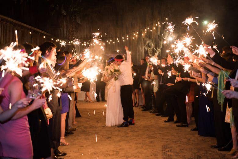 Southern Wedding Sendoff
