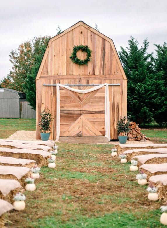 Diy Wedding At Home Rustic Wedding Chic