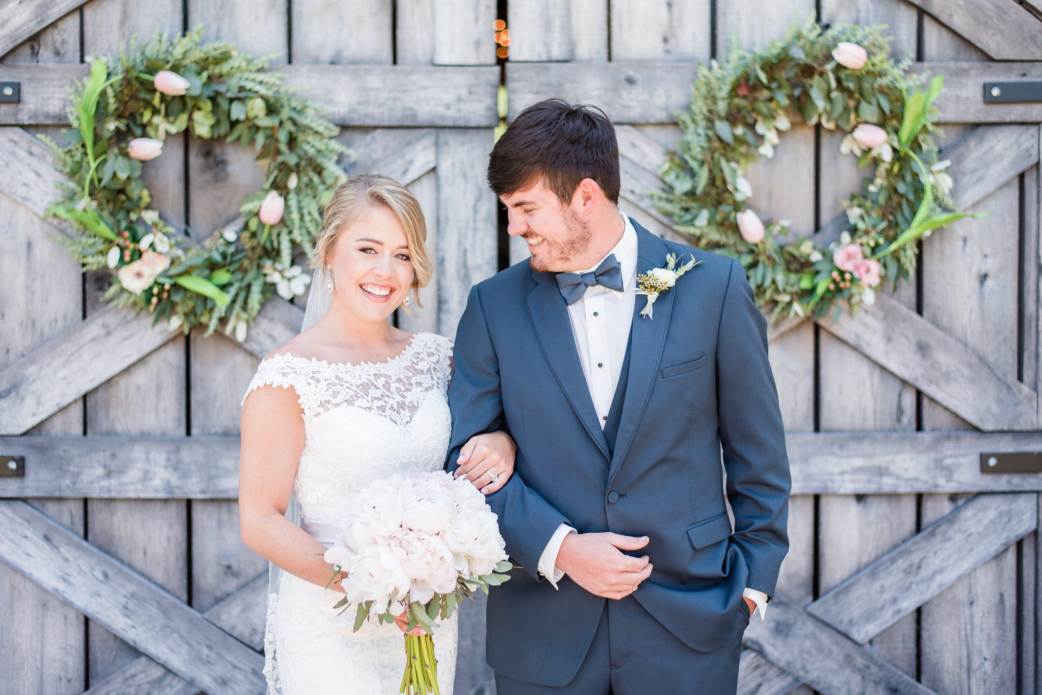 Elegant Southern Wedding - Rustic Wedding Chic