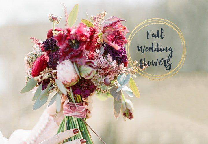 Fall Wedding Flower Ideas - Rustic Wedding Chic