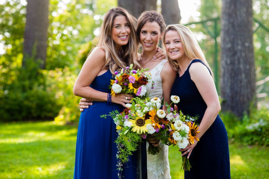 Do I Need Bridesmaids 4 Reasons To Have A Wedding Without: Vermont Rustic Summer Camp Wedding