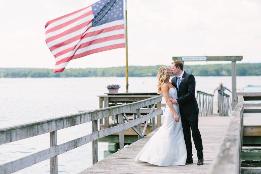 Summer Maine Barn Wedding - Rustic Wedding Chic