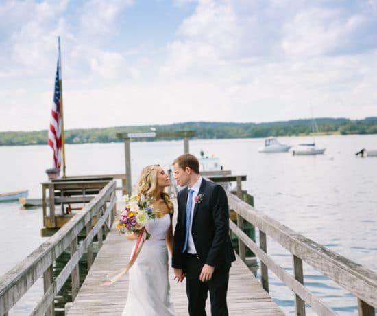 New England Rustic Wedding