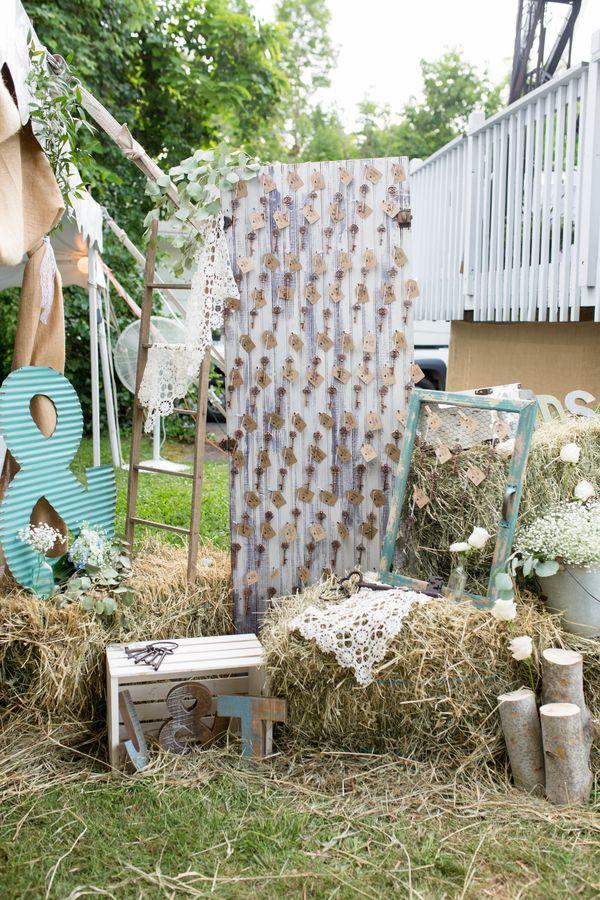 Connecticut Backyard Barn Wedding - Rustic Wedding Chic