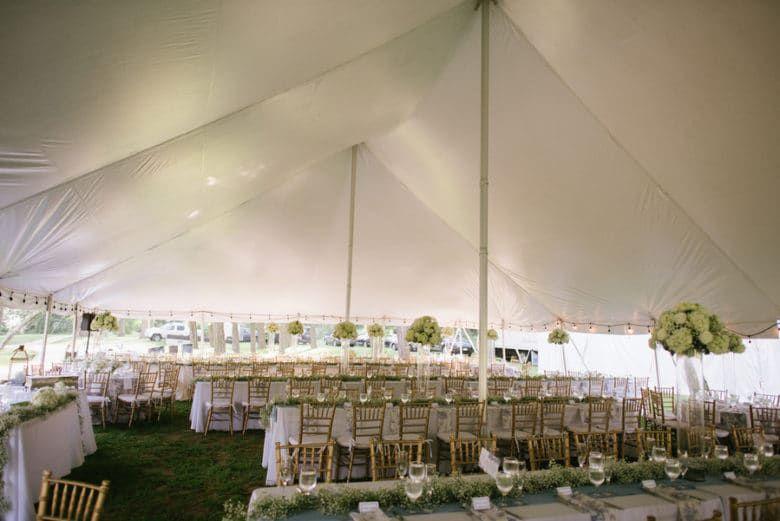 Tented Rustic Wedding