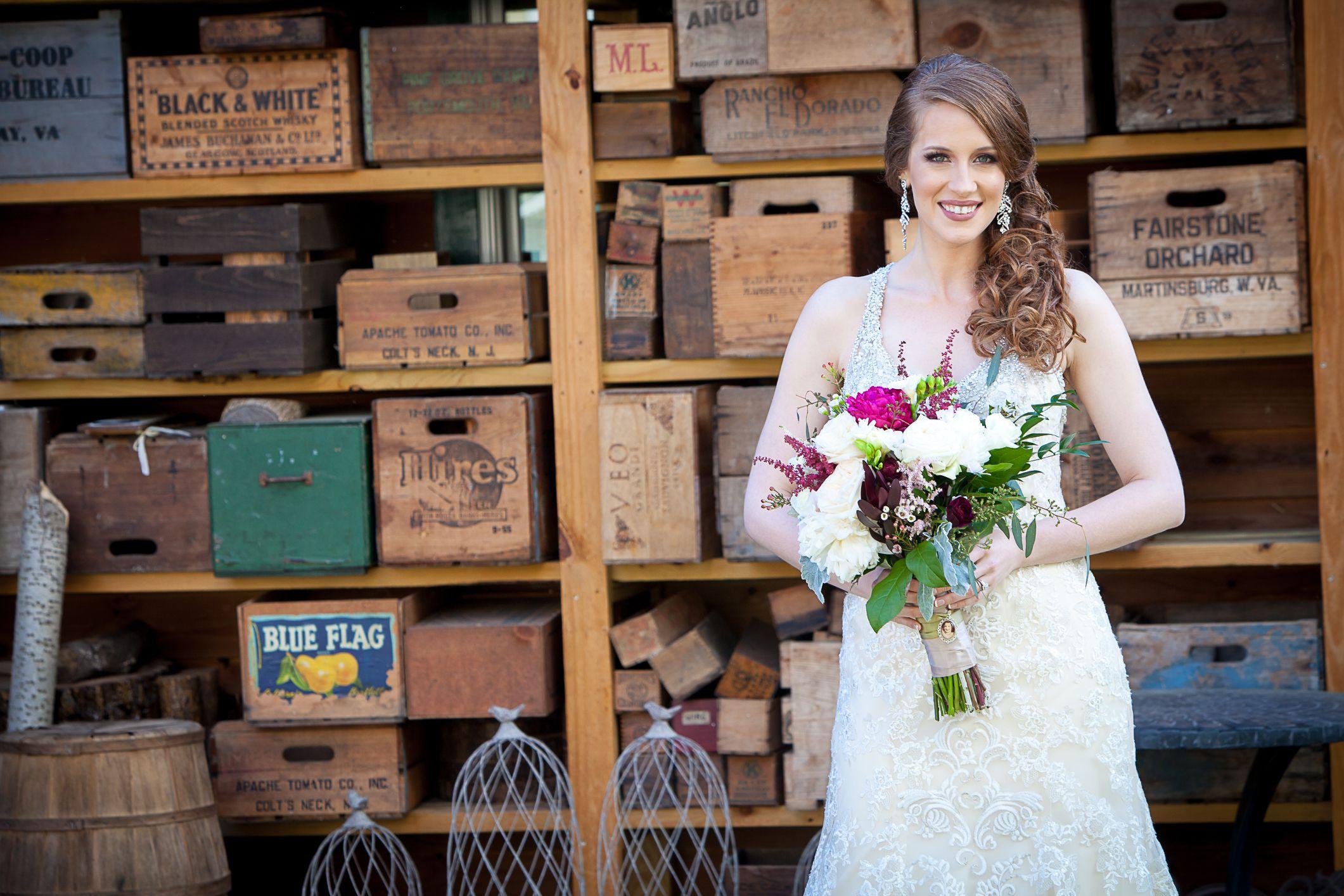 Khimaira Farm Virginia Wedding Rustic Wedding Chic
