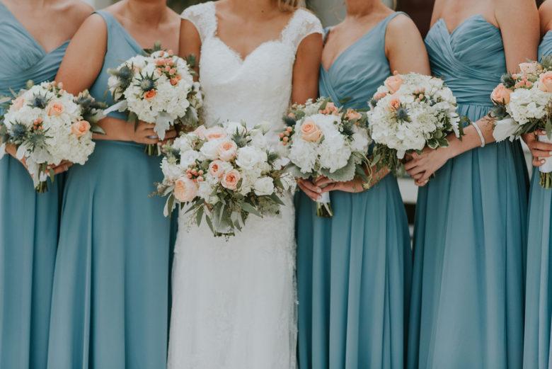 Rustic Wedding Bridesmaids
