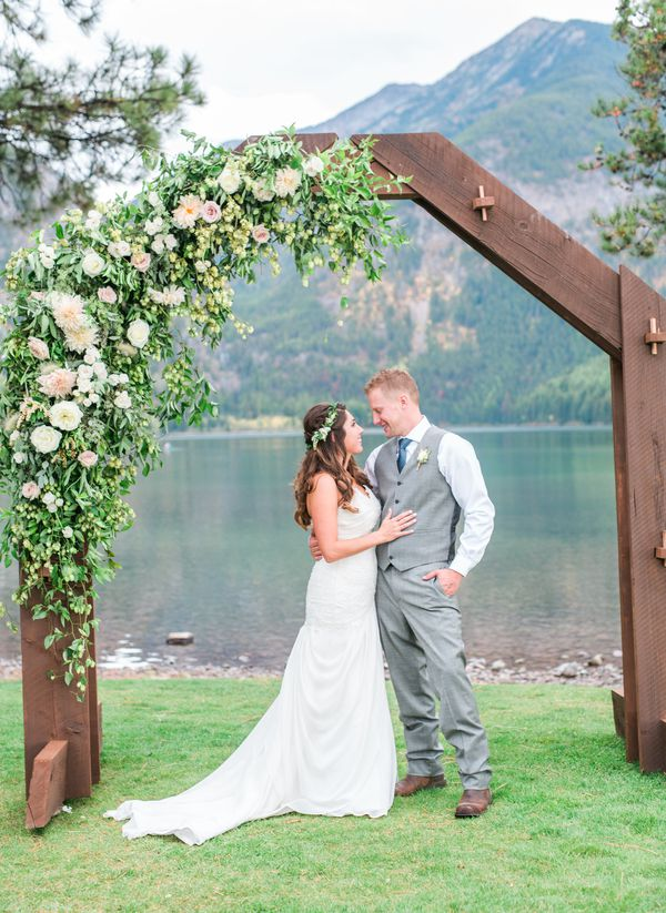 Rustic Lakeside Montana Wedding - Rustic Wedding Chic