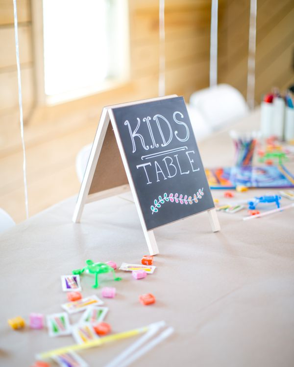 The Best Kids Table Ideas For Your Wedding