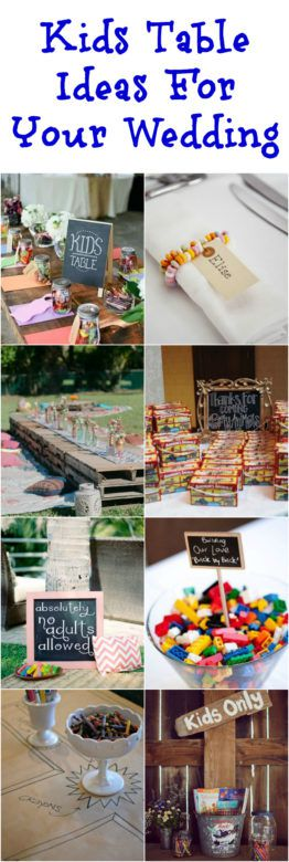 Kids Ideas For Your Wedding