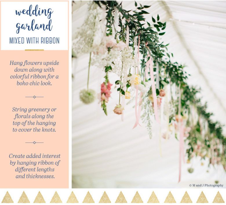 30 Creative Ceiling Decorating Ideas That Will Make Your: 15 Creative Wedding Garland Ideas