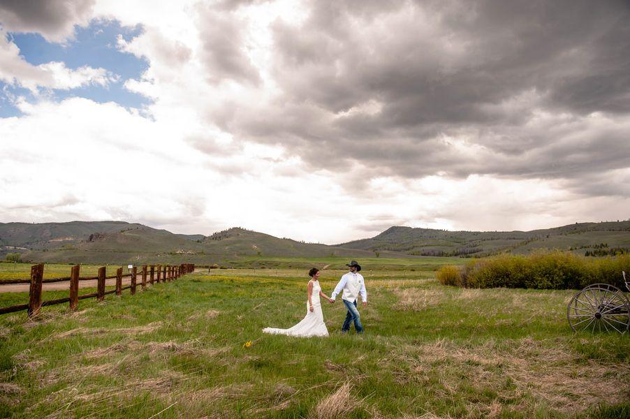 Rustic Ranch Colorado Wedding