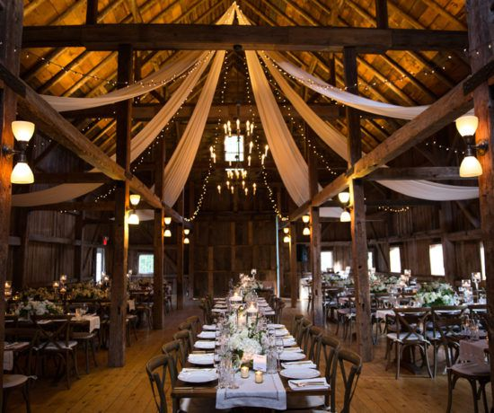 Barn Weddings: Elegant Fall Barn Wedding