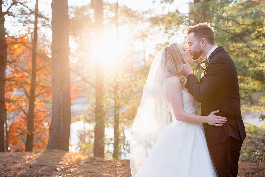 Woodsy Connecticut Wedding - Rustic Wedding Chic