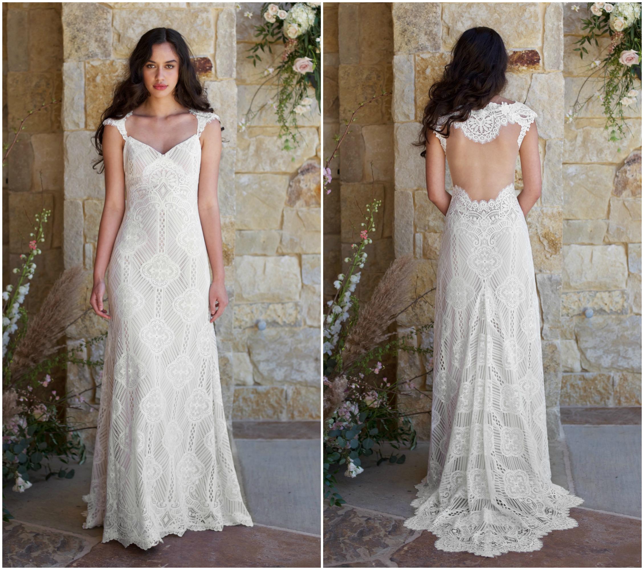 Rustic Wedding Dresses: Claire Pettibone Romantique Spring 2018 Collection