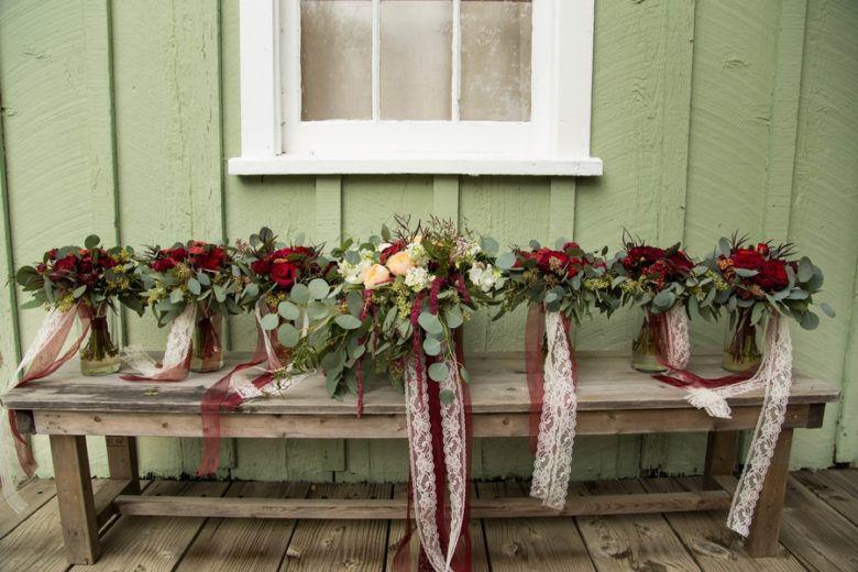 Rustic Wedding Bouquets