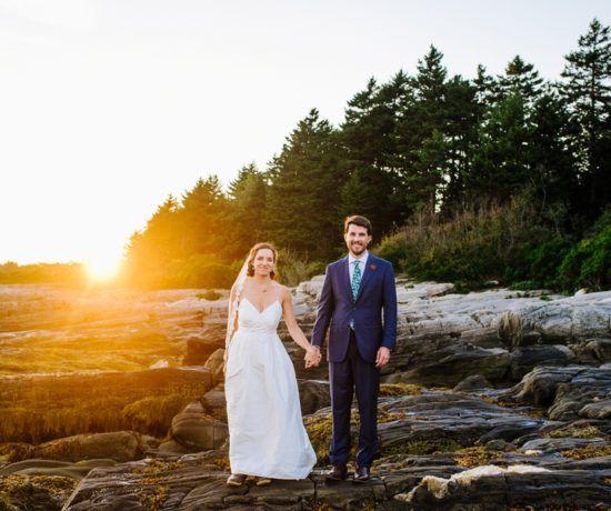 Outdoor Rustic Maine Wedding