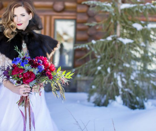 Mountain Winter Wedding