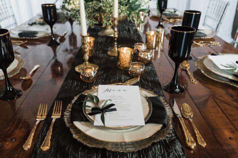 Elegant Country Wedding Table