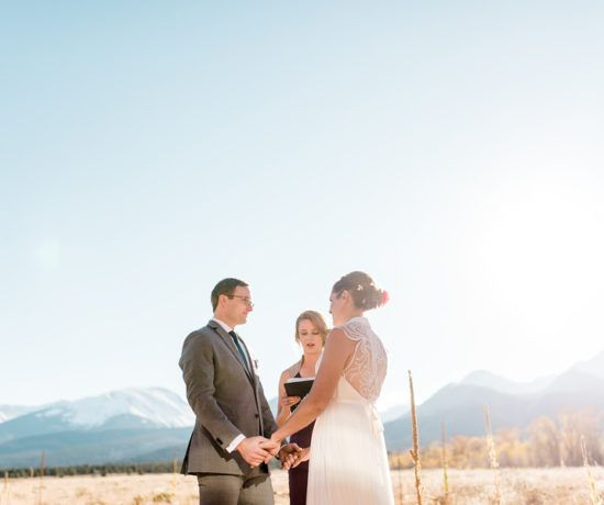Small Colorado Wedding