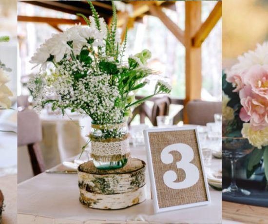 28 Wedding Table Number Ideas For Your Special Day