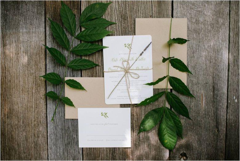 Rustic Country Wedding Invitation
