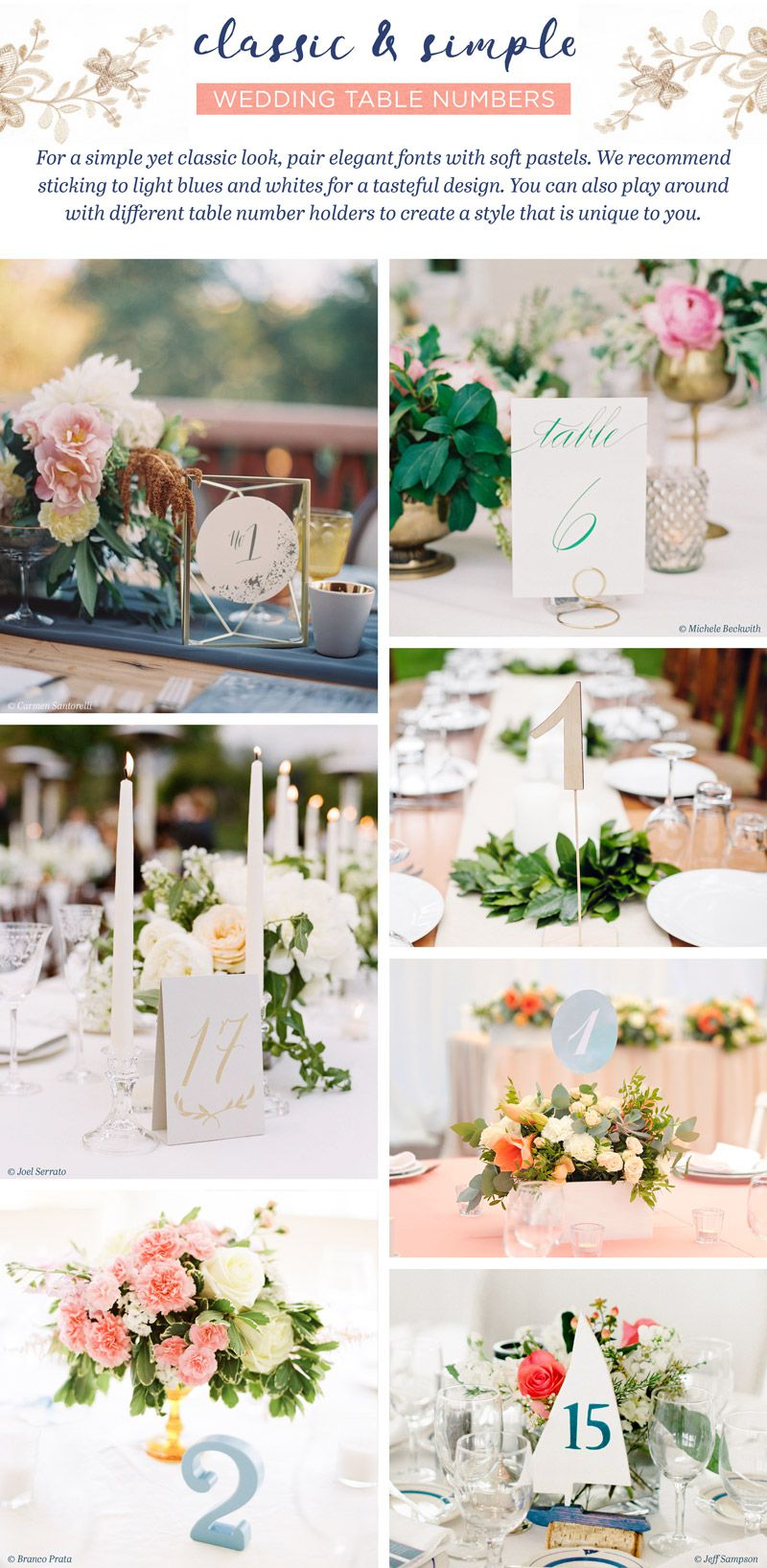 28 Wedding Table Number Ideas for Your Special Day - Rustic Wedding Chic