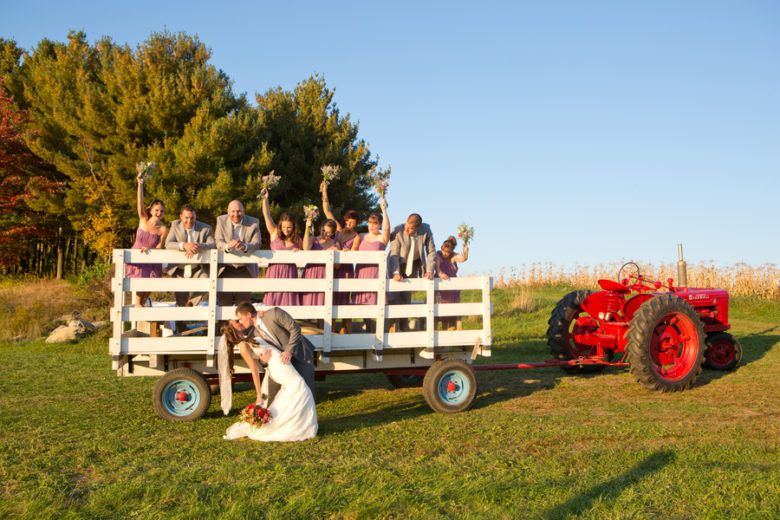 Vermont Fall Rustic Wedding - Rustic Wedding Chic