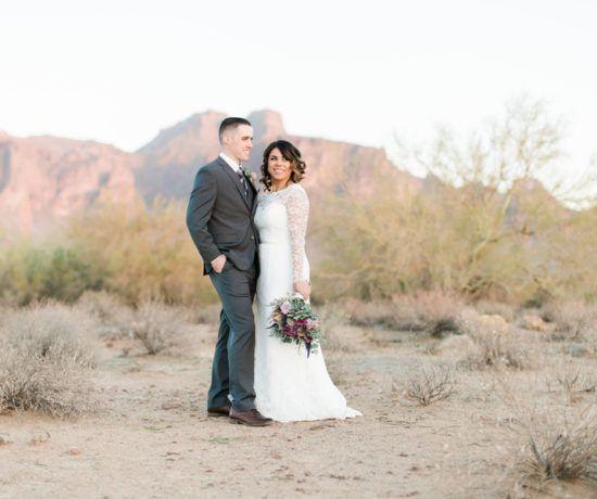 Rustic Desert Wedding