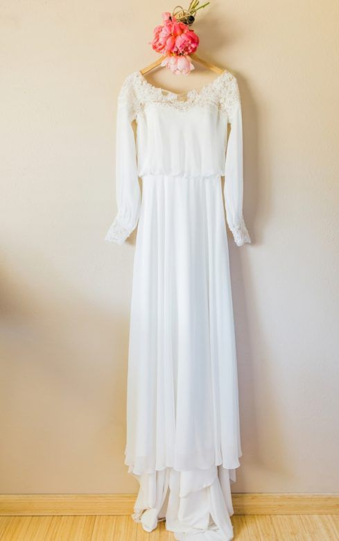 Boho Rustic Wedding Dress