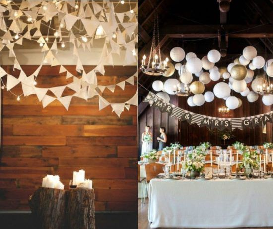 Rustic wedding decorations rustic country wedding decor and photos 20 ways to decorate your wedding with pennants junglespirit Choice Image