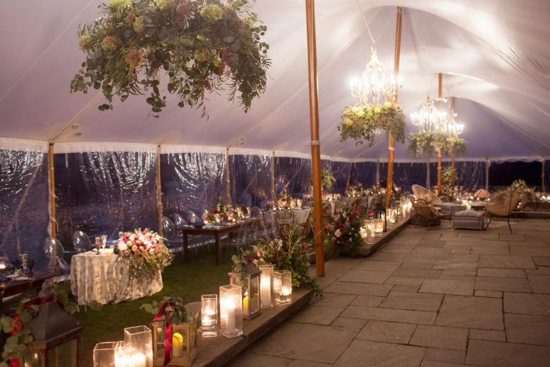 Rustic Tent Wedding