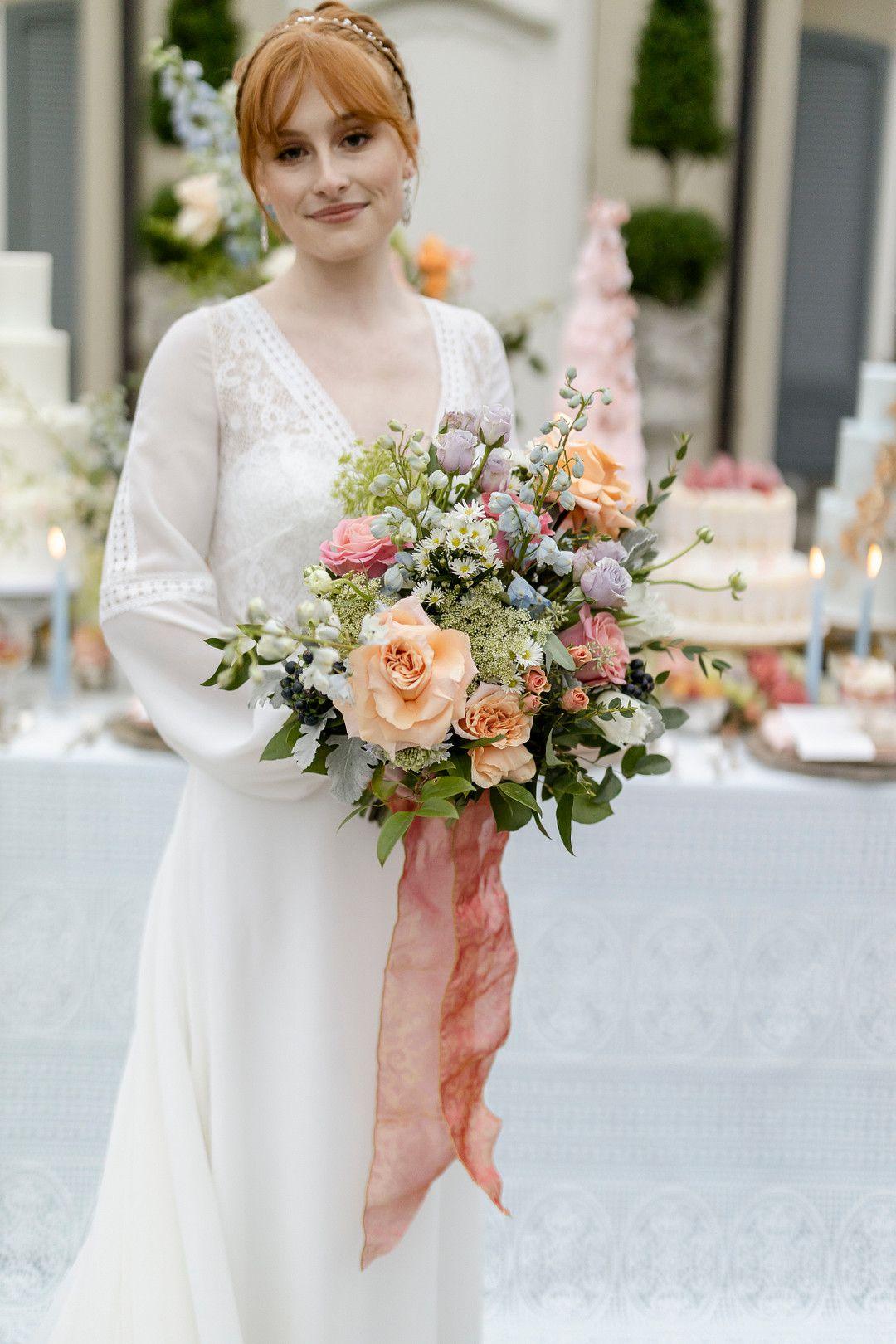 bridgerton netflix inspired bride
