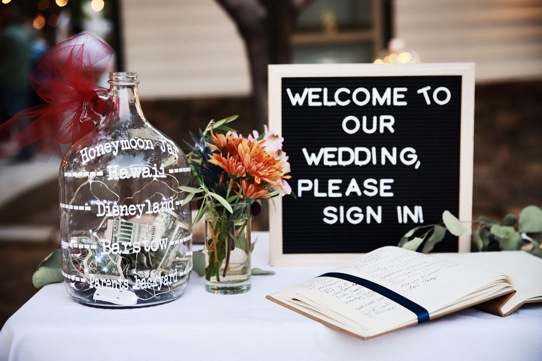 floral and lace private home wedding guest book