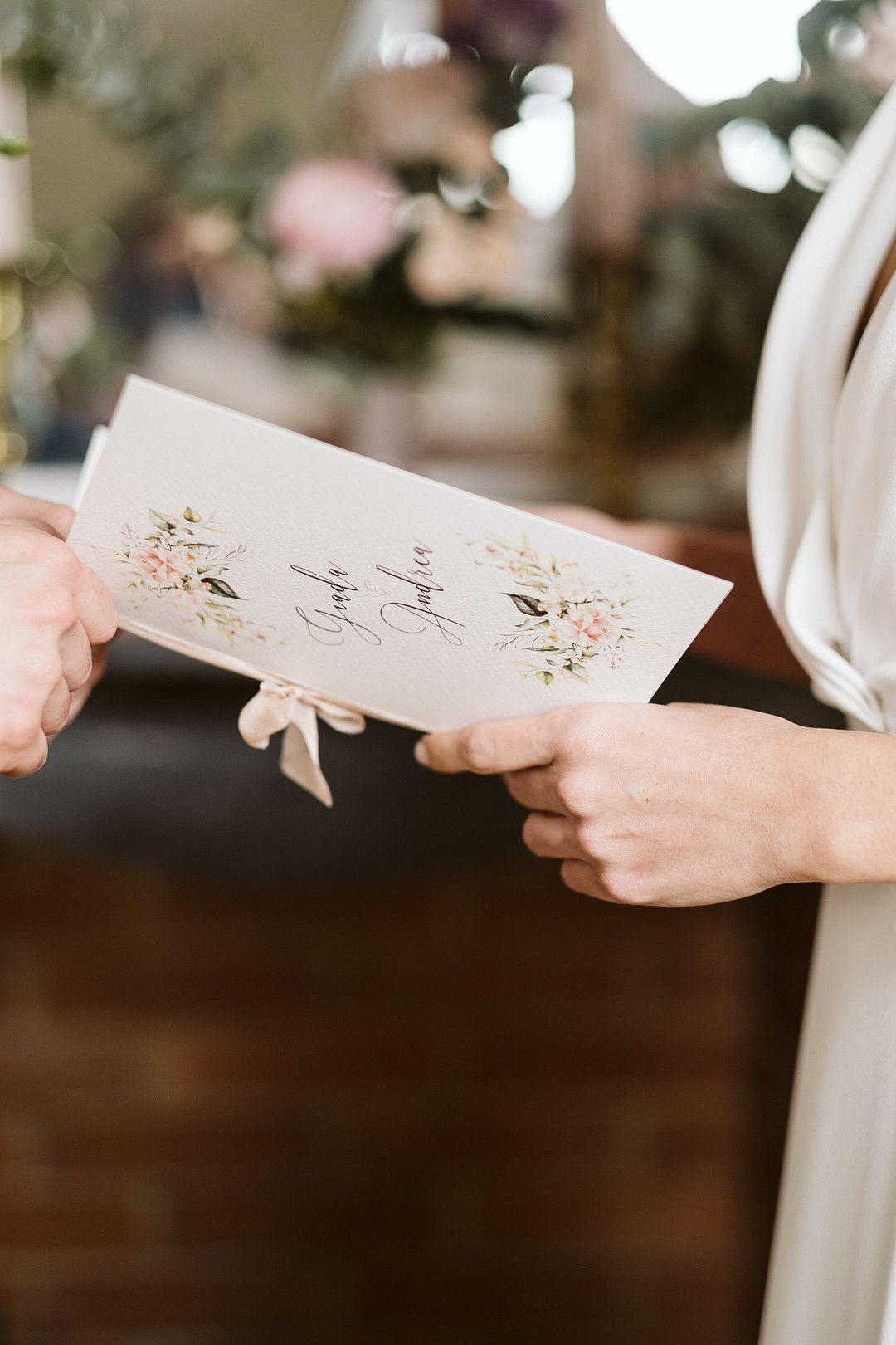 bride vows book