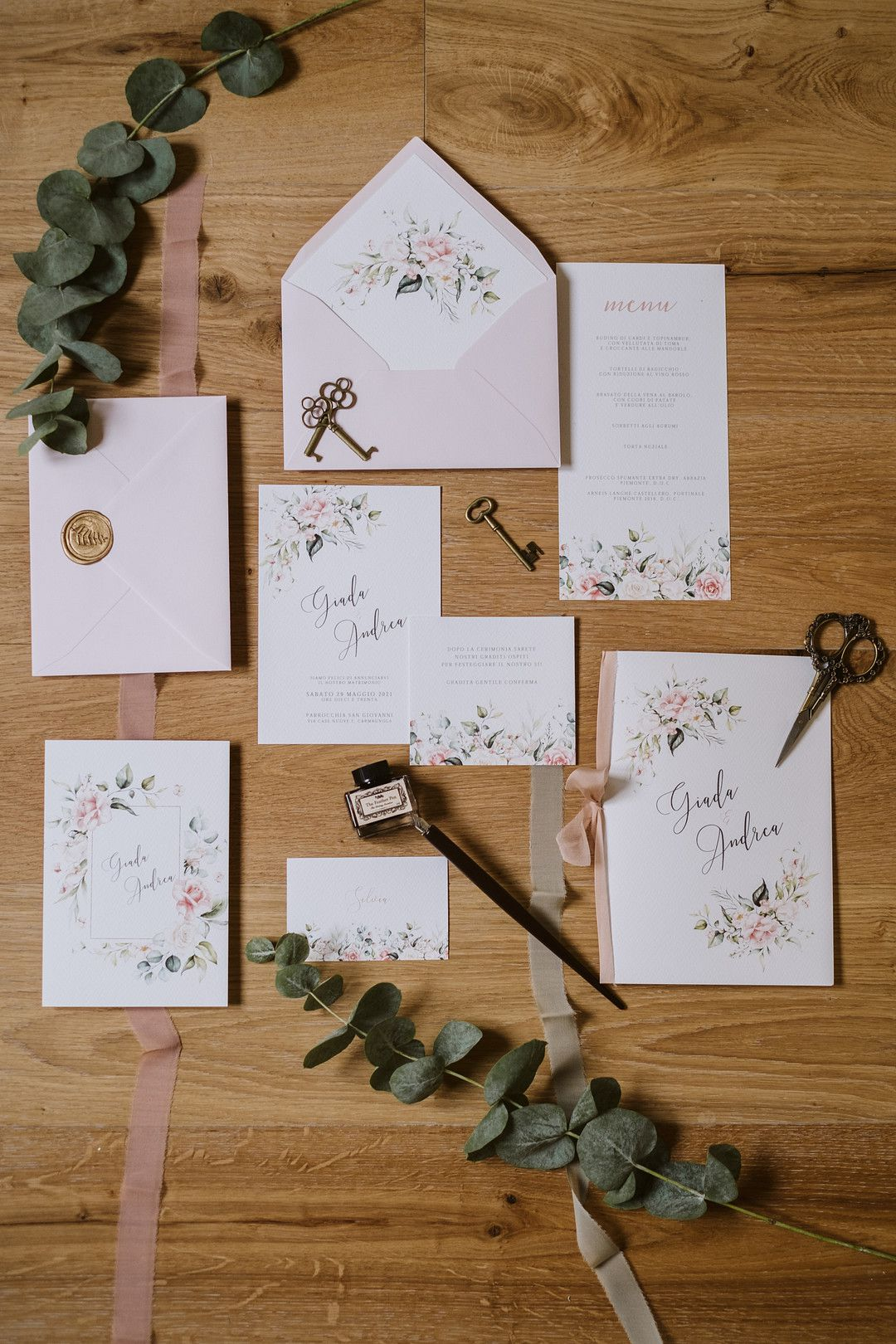 wedding invitations for at home elopement