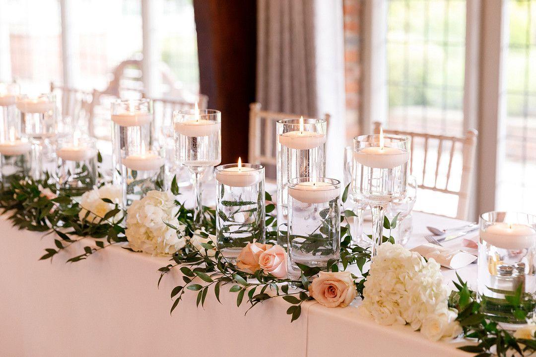 elegant summer wedding tablescape