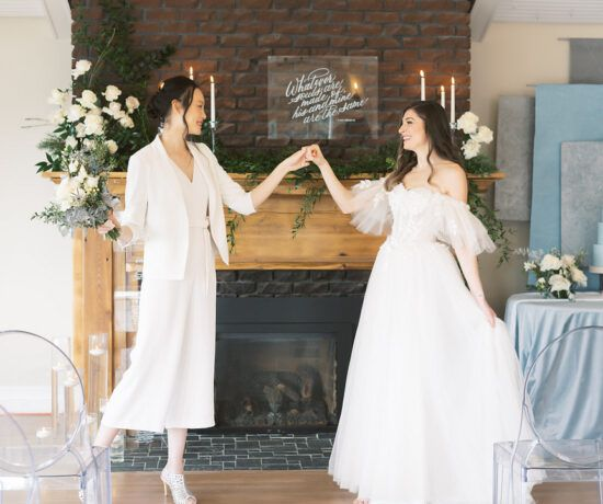 lgbtq+ elopement inspiration shoote